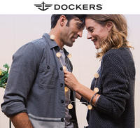 Up to 40% OffSitewide + Free Gift with purchase of $100 or more @ Dockers