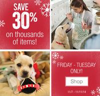 Up to 30% OffPetSmart Select Thousands of Items