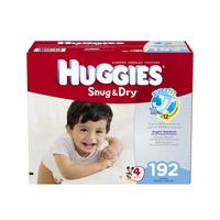 $4 Off Huggies Snug & Dry Diapers, Size 1