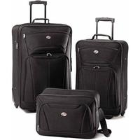 $39.99 American Tourister Fieldbrook II 3-Piece Set In Black
