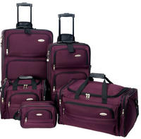 $79.99 Samsonite 5 Piece Nested Luggage Set, 4 colors are available