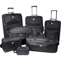 $77.99 American Tourister 7 Piece Ultra Lightweight Deluxe Luggage Set