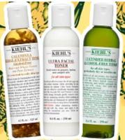 20% Off+1 Deluxe Sample+3 Free Samples Toners @ Kiehl's