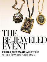 Up to $10,000 Gift Card  with Your Jewelry Purchase @ Neiman Marcus Be Jeweled Event