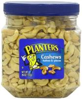 $6.98 Planters Cashew Halves and Pieces Jar, 26 Ounce