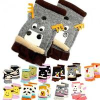 David & Young Critter Animal Gloves - Hand Flip Top