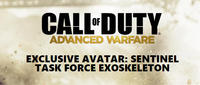 FreeCall of Duty: Advanced Warfare limited edition Sentinel Task Force Exoskeleton