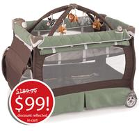 Chicco 4-in-1 Lullaby LX Playard Adventure @ pishposhbaby