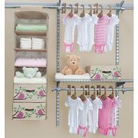 Delta 20 Piece Nursery Closet Starter Kit