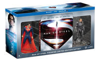 $15.22 Man of Steel Collectible Figurine Limited Edition Gift Set