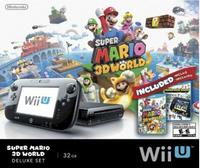 $274.99 32 GB Nintendo Wii U Deluxe Set with Super Mario 3D World and Nintendo Land