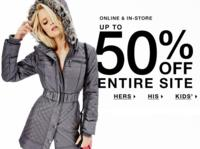 Up to 50% Off Sitewide+Extra 50% Off Sale Items@ Guess Factory Store