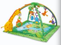 $39.99 Fisher-Price Rainforest Melodies and Lights Deluxe Gym