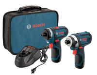 Only $119 Bosch CLPK27-120 12-Volt Max Lithium-Ion 2-Tool Combo Kit