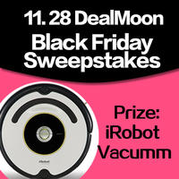 Win an iRobot Vacuum and Dealmoon T-Shirtsby leaving a comment via DealMoon Mobile App for iPhone, iPad, or Android
