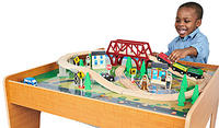 Imaginarium Train Set with Table - 55-Piece @ ToysRUs