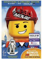 $9 The LEGO Movie EVERYTHING IS AWESOME EDITION DVD/BD/3D Combo