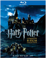 Up to 50% Off Select Harry Potter Complete Film Collections Blu-ray and DVD