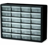 Akro-Mils 10124 24 Drawer Plastic Parts Storage Hardware and Craft Cabinet