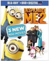 $3.96 Despicable Me 2 Blu-ray/DVD/Digital Copy Combo Pack