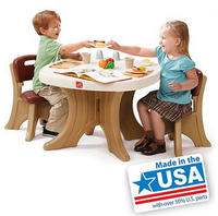 $52.49 Step2 New Traditions Table & Chairs Set