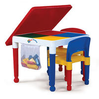 Tot Tutors 2 in 1 Construction Table and Chair Set