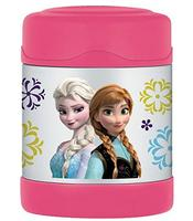 Thermos 10 Ounce Funtainer Food Jar, Frozen Pink