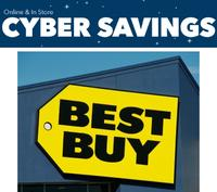 Now Live!  BestBuy Cyber Week Sale @ Best Buy