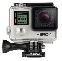 GoPro HD HERO4 Black Edition 4K Action Camcorder (Manufacturer Refurbished)
