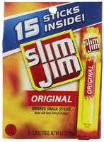 Slim Jim Original Snack Sticks, 0.28 Ounce, 15 Count