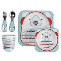 Skip Hop Zoo Winter Feeding Set, Polar Bear