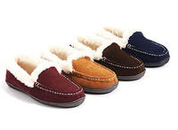 Clarks Mandy Faux Fur Slippers