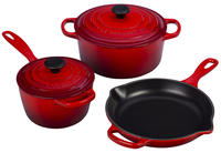 $318.74 + Free Gift + Free Shipping Le Creuset 5-Piece Signature Set