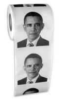 BigMouth Inc Funny Toilet Paper: Obama