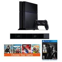 $399.99 Sony PlayStation 4 500GB + Free PlayStation 4 Camera + Free The Last of Us + Free 1 Games