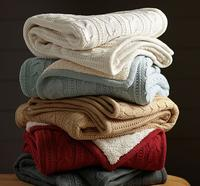 30% Off Select Throws @ Pottery Barn