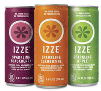 $9.97 Izze Sparkling Juice Variety Pack, 8.4 Ounce (Pack of 24)