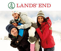 50% off All Outerwear, Cold Weather Accessories and Boots + 30% off Everything Else @ Lands End