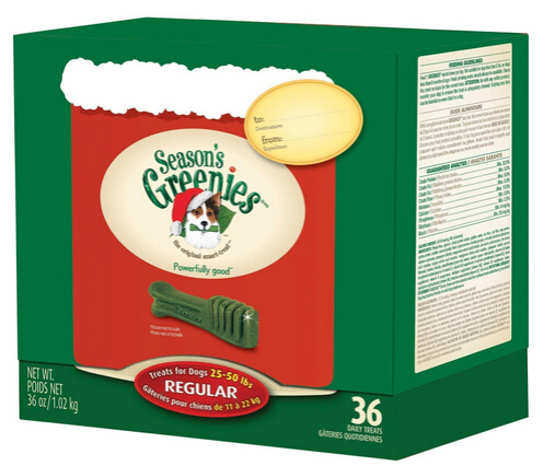 Up to 73% off Select Greenies Dog and Cat Treats @ Amazon.com