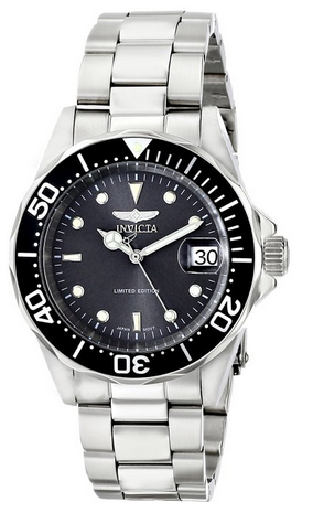 """$49.99 Invicta Men's """"Pro Diver"""" Stainless Steel Watch ILE8926ASYB"""