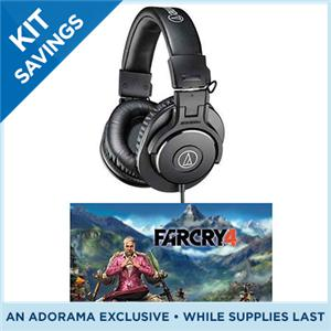 $69 Audio-Technica ATH-M30x Pro Monitor Headphones, With Ubi Soft Far Cry 4