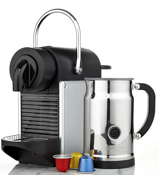 From $199.99+ $100 Club Credit with select Nespresso Coffee Machine Purchase @ macys.com