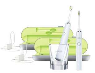 $259.99 Philips Sonicare DiamondClean Rechargeable Electric Toothbrush 2-handle Pack