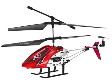 $10.99 The Repeller 3.5-Channel RC Metalic Frame Helicopter with Gyro & Twin Rotors