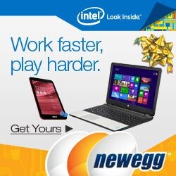 Up to 50% Off Select Intel-based Tablets, Laptops & Desktops @ Newegg