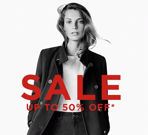 Up to 50% OffSelected Item Sale @ Mango