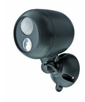 $11.99 Mr Beams MB360 Wireless LED Spotlight with Motion Sensor and Photocell