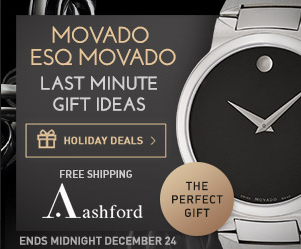 Up to 84% off + FS Movado and ESQ by Movado Event @ Ashford