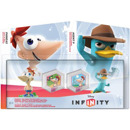$9.99 Disney Infinity Phineas and Ferb Toy Box Set (PlayStation 3, Xbox 360, Nintendo Wii, Wii U, 3DS)