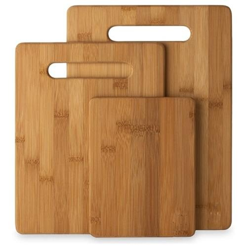 $9.49 Eco Friendly Bamboo Cutting Board Set - 3 Pieces